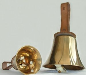 EDITED Handbell Stock Photo